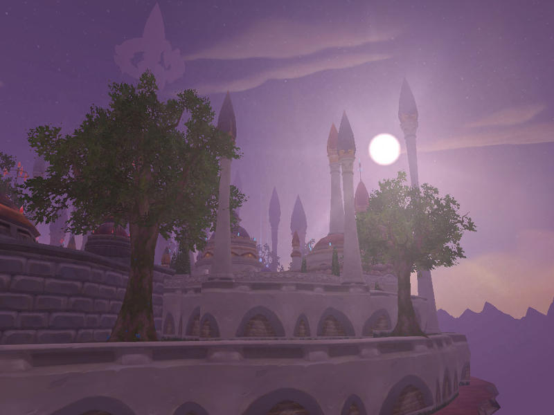 Dalaran Flight Point by Ithana