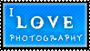 I Love Photography Stamp