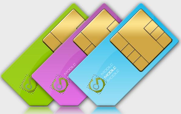 Sim Card Design by C-GFX