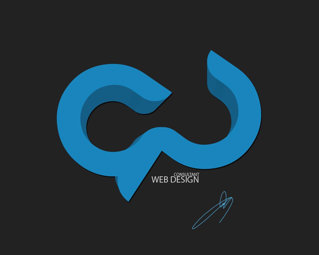 Web Design Logo by C-GFX  C Logo Design