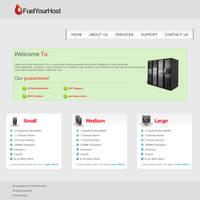 Fuel Your Host Re-Design by C-GFX