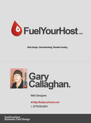 Fuel Your Host Business Cards