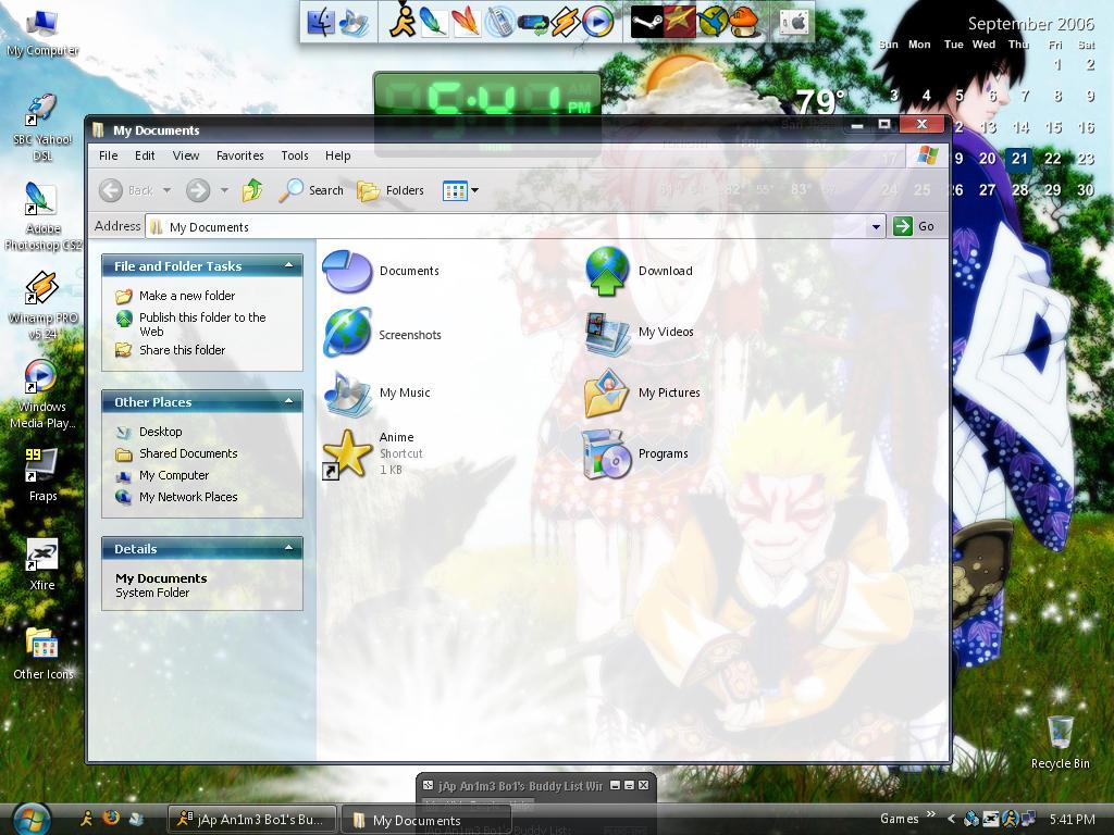 My Desktop v2 by Atsuke