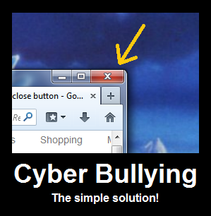 solutions to cyber bullying Bullying, unfortunately, is not anything new however, the constant access students have to each others' personal information is with constant, disruptive text messages, hacked facebook accounts, and offensives tweets, it's tempting to place the blame on technology and ban it altogether from classr.