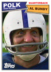 Al Bundy S Football Card By Motorhead4646 On Deviantart