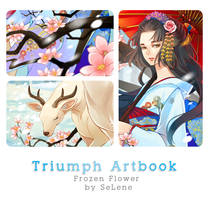 Triumph Artbook Preview : Frozen Flower