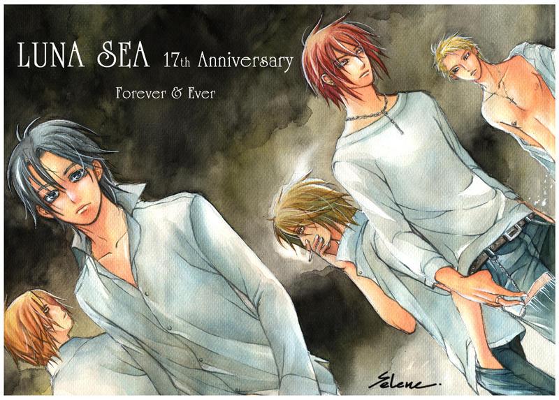 LUNA SEA - 17 th Anniversary by Se-Lene