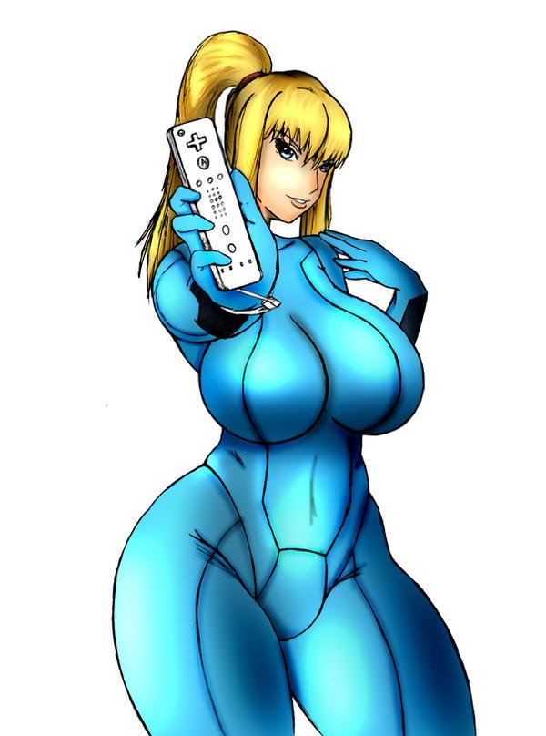 Metroid - Wii Samus by DengekiMatsuko