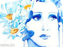 Daisies Tears by defectivebarbie
