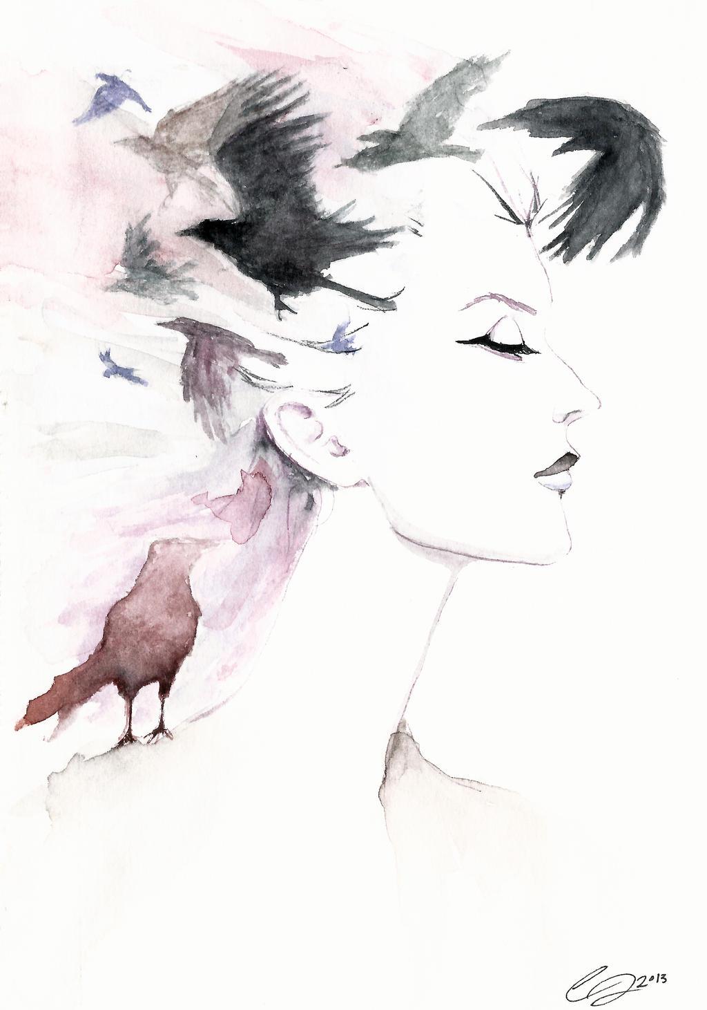 Crown of Crows by defectivebarbie