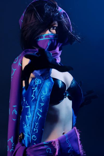 League of Legends, female Malzahar cosplay by DianaSimon