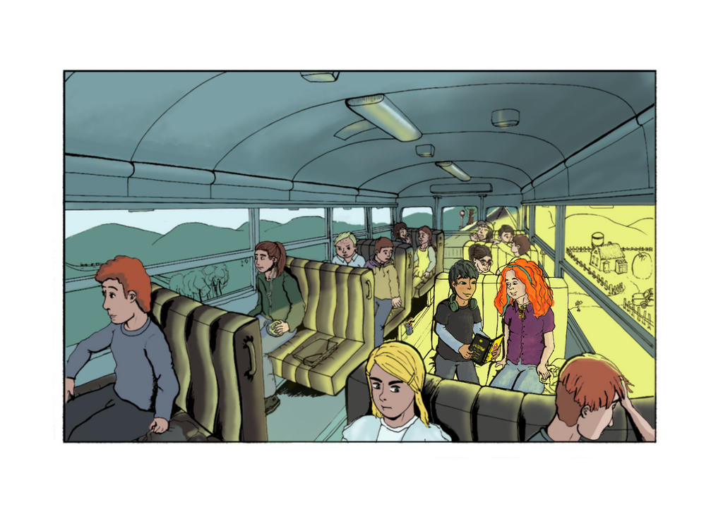 eleanor and park fan art bus - photo #21