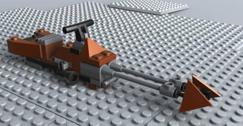 Lego Speederbike