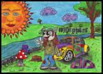 Hippie Fella by FriendlyButterfly