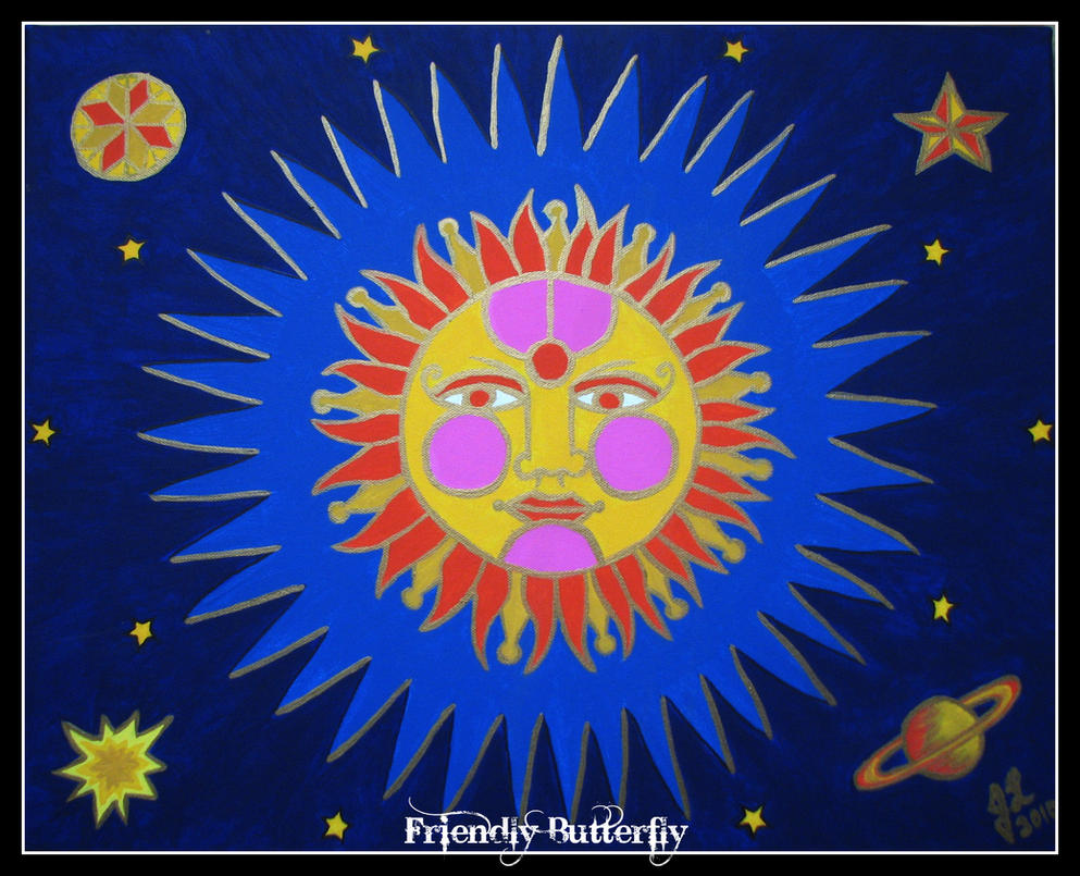 Groovy Sun by FriendlyButterfly