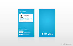 Business Card  Template 3 by thinktwelve