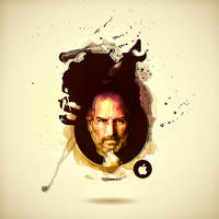 STEVE JOBS by BRINGYOURHATE