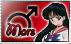 Sailor Mars Stamp by Maiden-Hebi