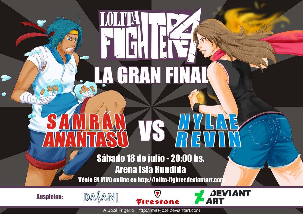LF4- Poster Gran Final by Miss-Jose
