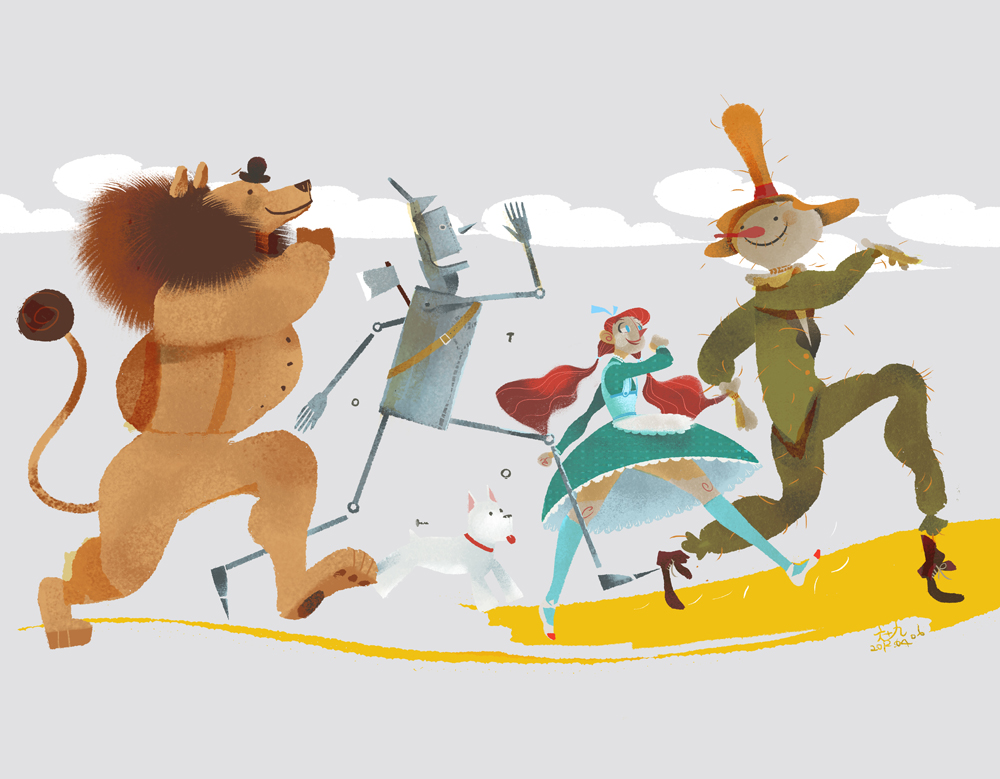 wonderful wizard of oz Tornadoes, flying monkeys, and ruby slippers when you mention these three things together audiences everywhere immediately think of dorothy gale's adventures in oz l frank baum published the wonderful wizard of oz in 1900, the novel was then followed by a series of books capturing the multiple adventures of dorothy.