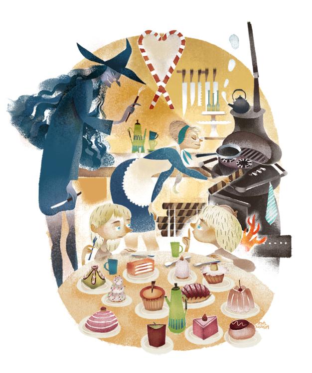 Hansel und Gretel by popnbox