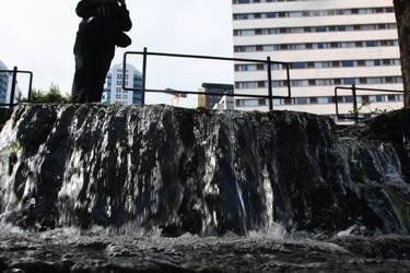 Little Waterfall 2 by Misegard