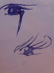Anime eyes by Misegard