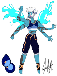 Sodalite Gem Fusion by Nosferatu015