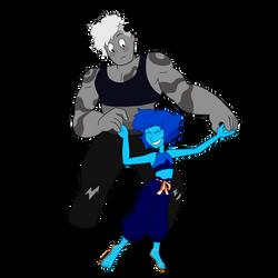 Onyx and Lapis Lazuli Fusion Dance by Nosferatu015