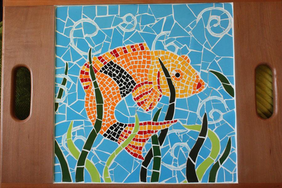 Сделать картину из мозаики своими руками 52