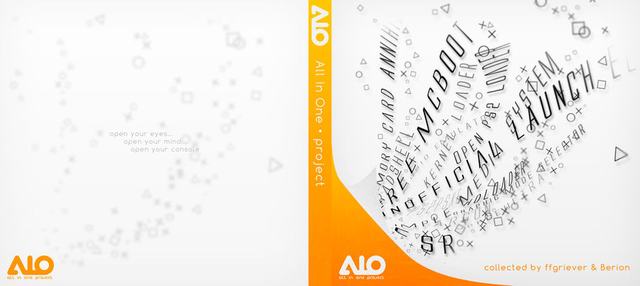 CD cover for AIO Project