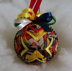 Indian Handmade Quilted Ornament