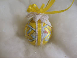 Precious Moments handmade quilted ornament 2