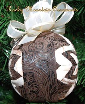 Rocky Mountain Cowboy ornament
