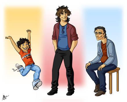 Brad age progression