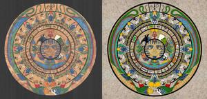 Aztec X Egyptian calendar comparison