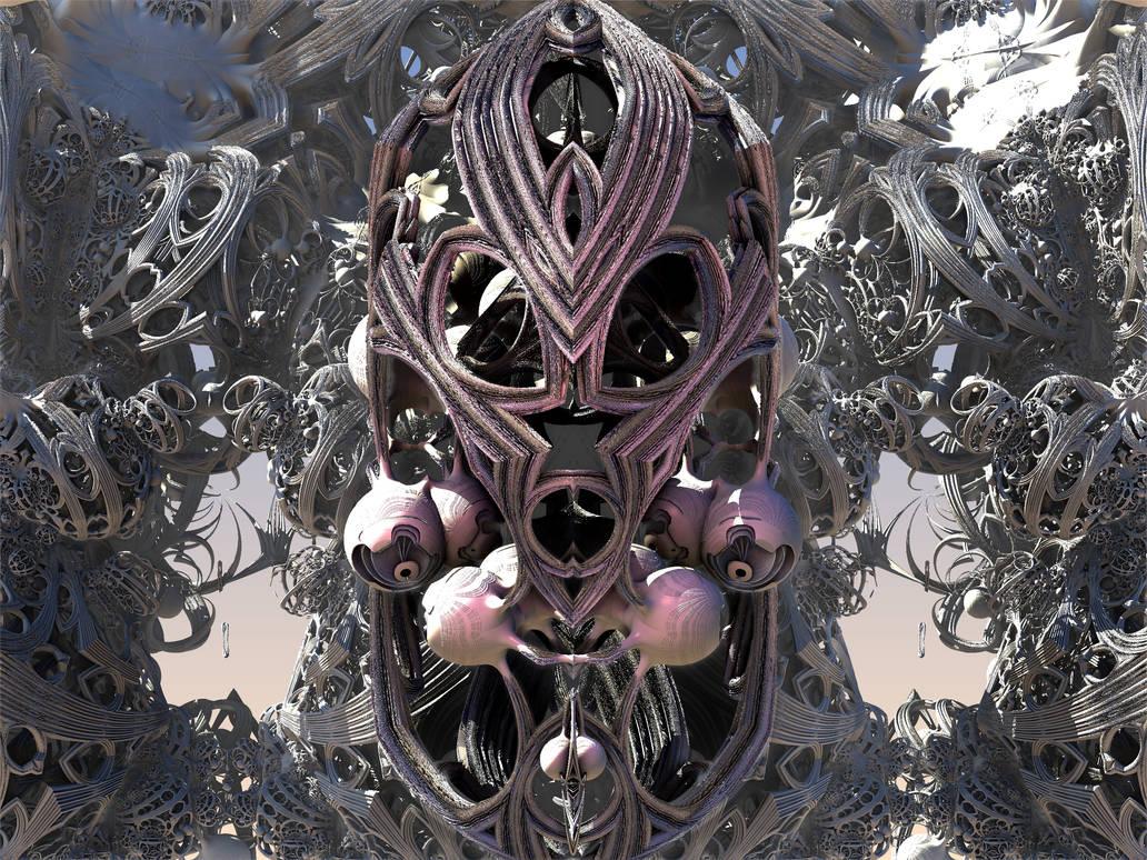 Warrior by mb3d-fractals