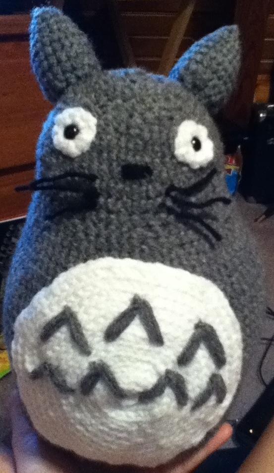 Amigurumi Totoro : Amigurumi Totoro by PunkNeko-kun on deviantART