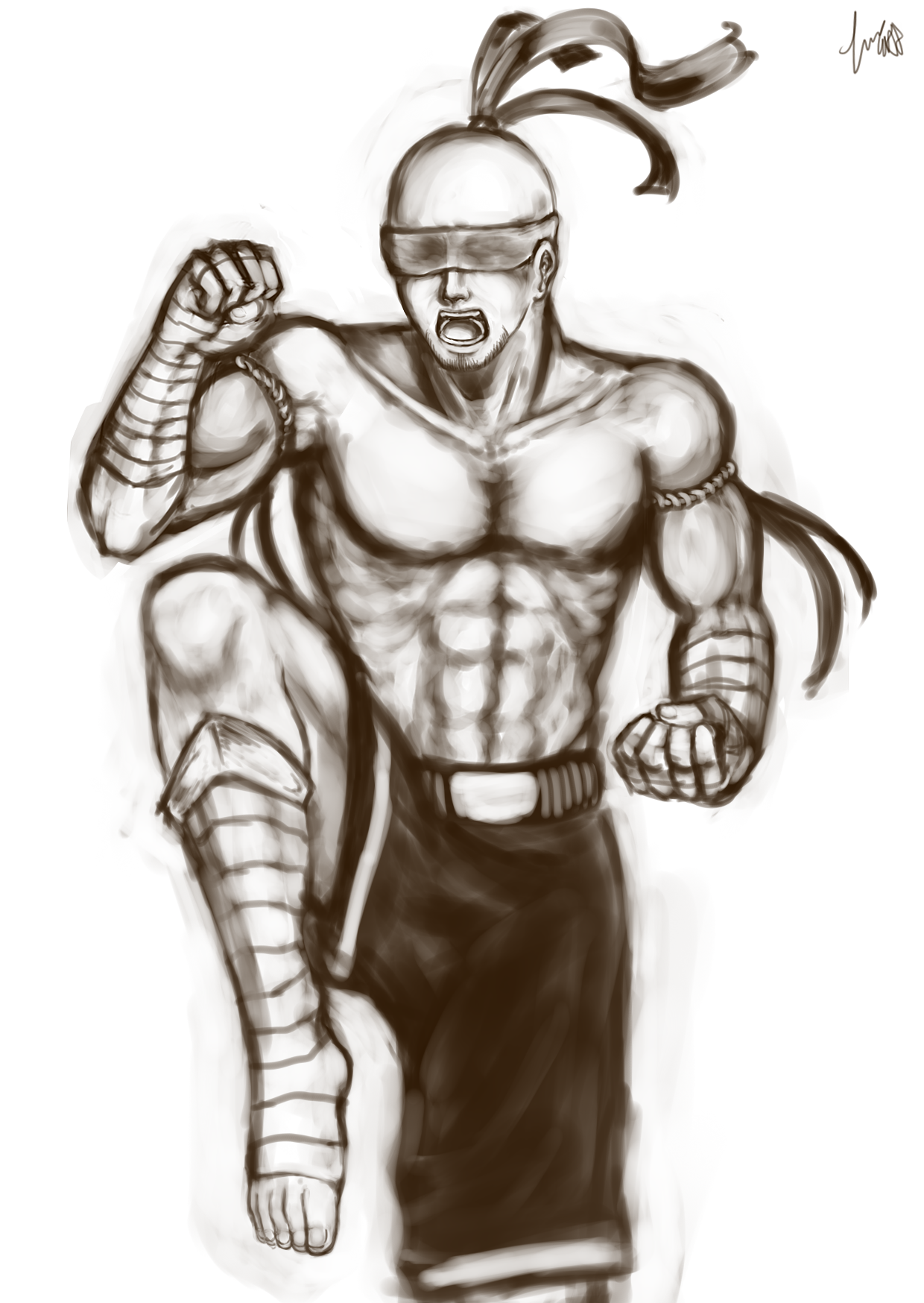 Muay Thai Lee Sin By Mokou369 On Deviantart