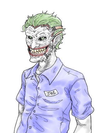 Joker's Garage (Water Colour) by b-dangerous