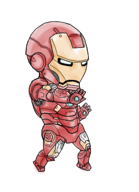 Iron Mini MK VII (Watercolour) by b-dangerous