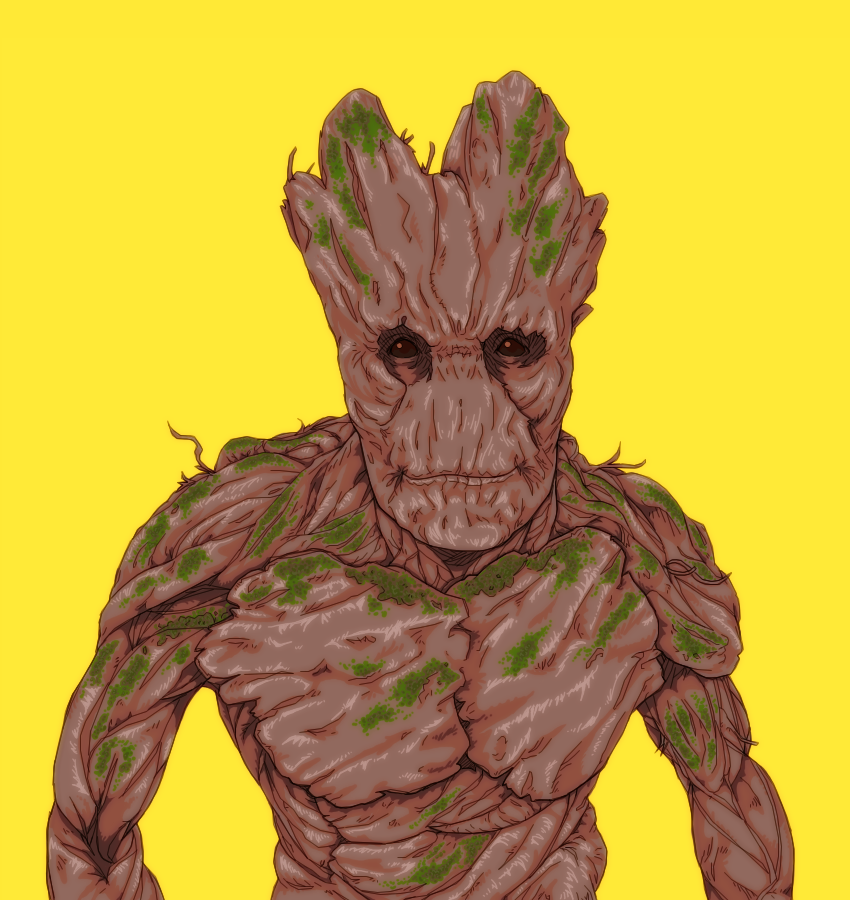 I AM GROOT by b-dangerous