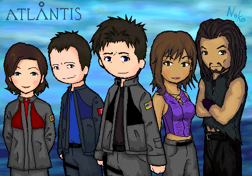 Stargate Atlantis by b-dangerous