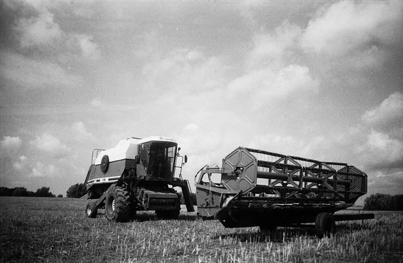 Combine Harvester by Freggoboy