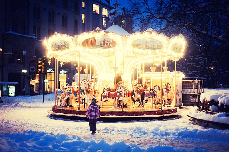 Christmas Carousel by Freggoboy