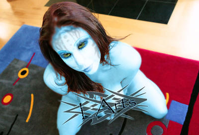 Gianna Michaels Na'vi by DigitalError