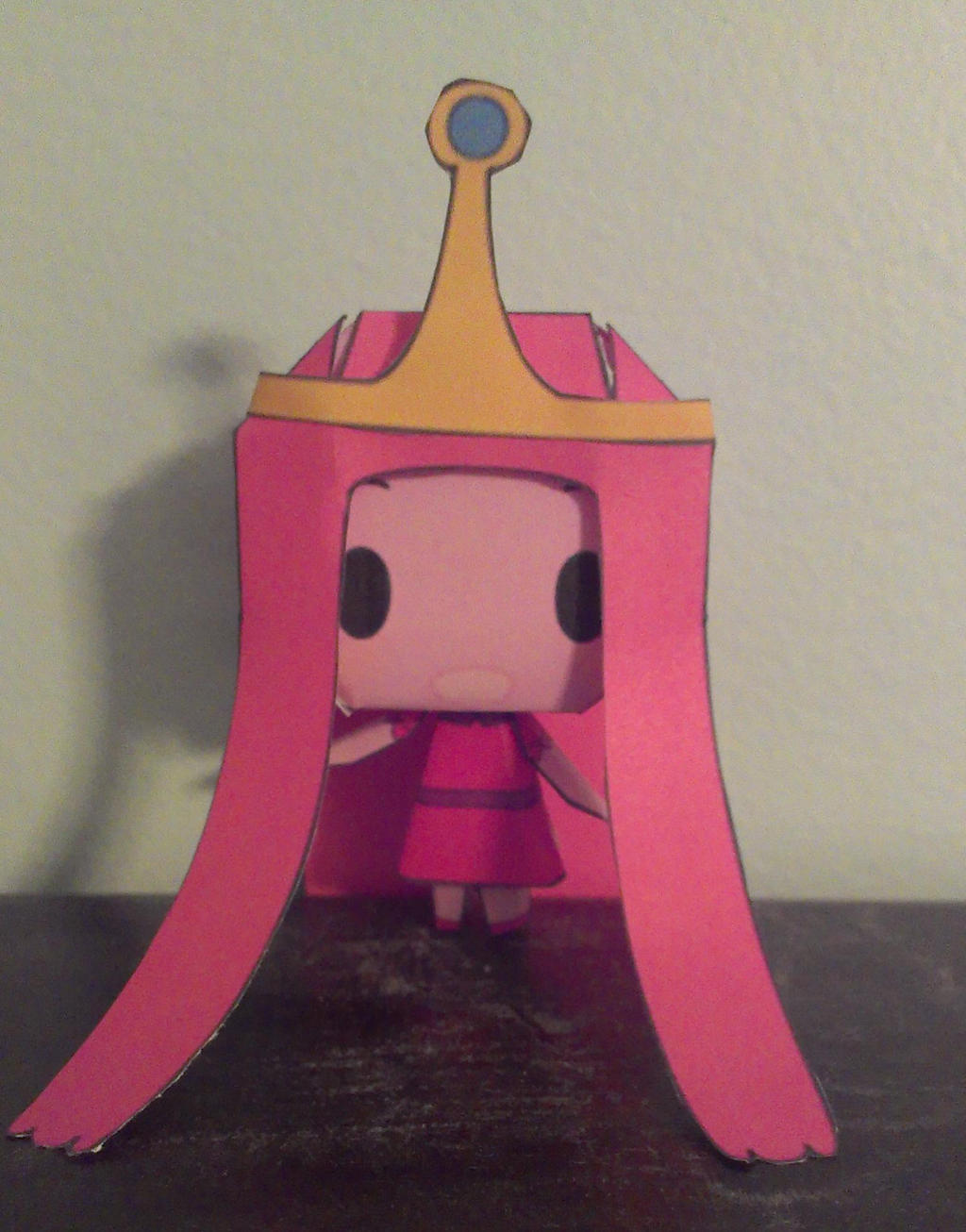 Adventure Time Princess Bubblegum Papercraft by Ferriswheelshipping1