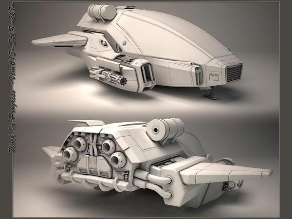 Concept Spaceship by StkZ613