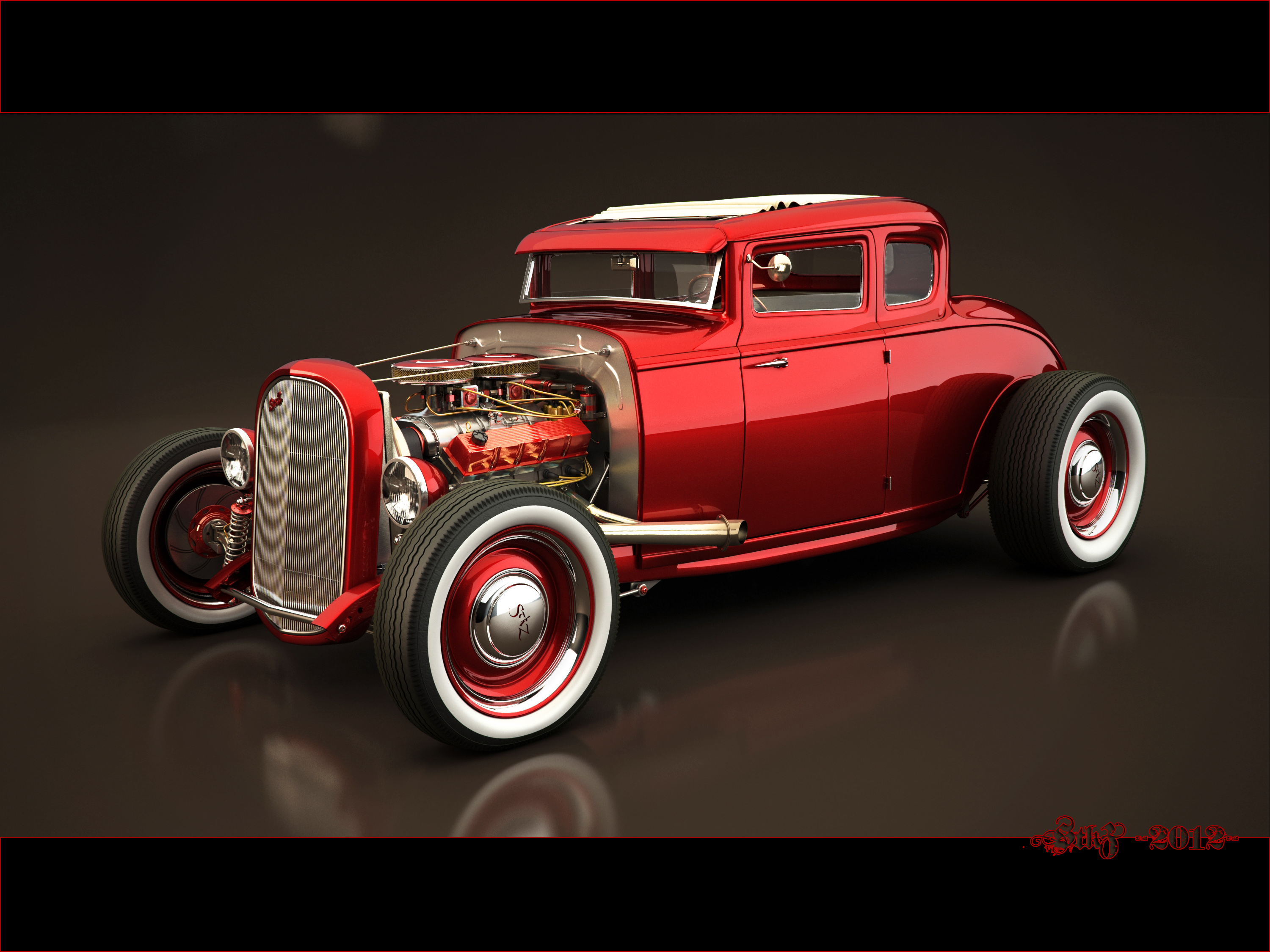 ford hot rod by stkz613 on deviantart. Black Bedroom Furniture Sets. Home Design Ideas