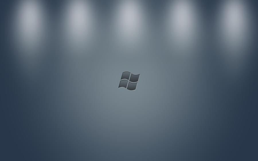 Minimalist Windows Wallpaper by FavsCo